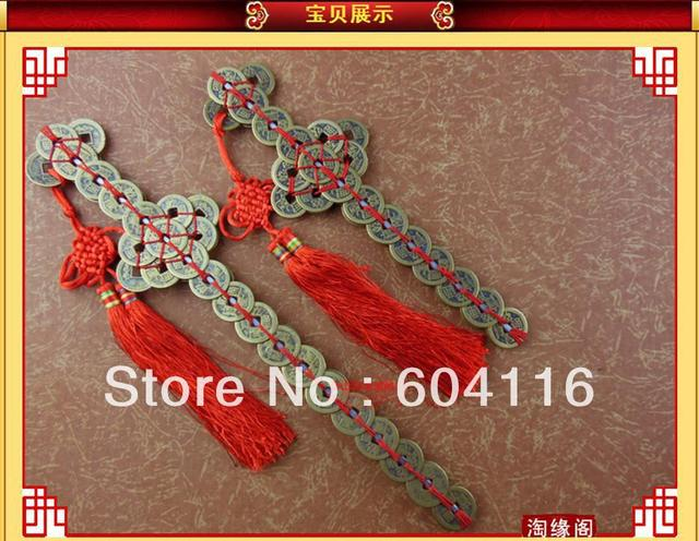 big size long 32cm*7cm drive out evil Feng shui copper coin sword Good luck come coin Vintage Chinese Coins Sword Art Collection