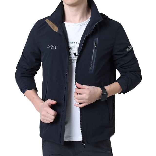 Nian jeep marca de ropa de moda Chaquetas y Abrigos para hombres vestido  2017 Nuevo estilo 42b040add879