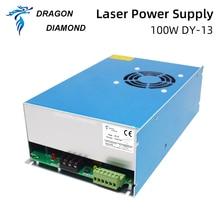 Dragon Diamond DY13 Co2 лазерный источник питания для RECI W2 100 Вт используется для лазерной трубки гравировальный станок для резки серии DY