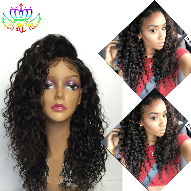 Super Best Synthetic Lace Front Wigs With Baby Hair Natural Kinky