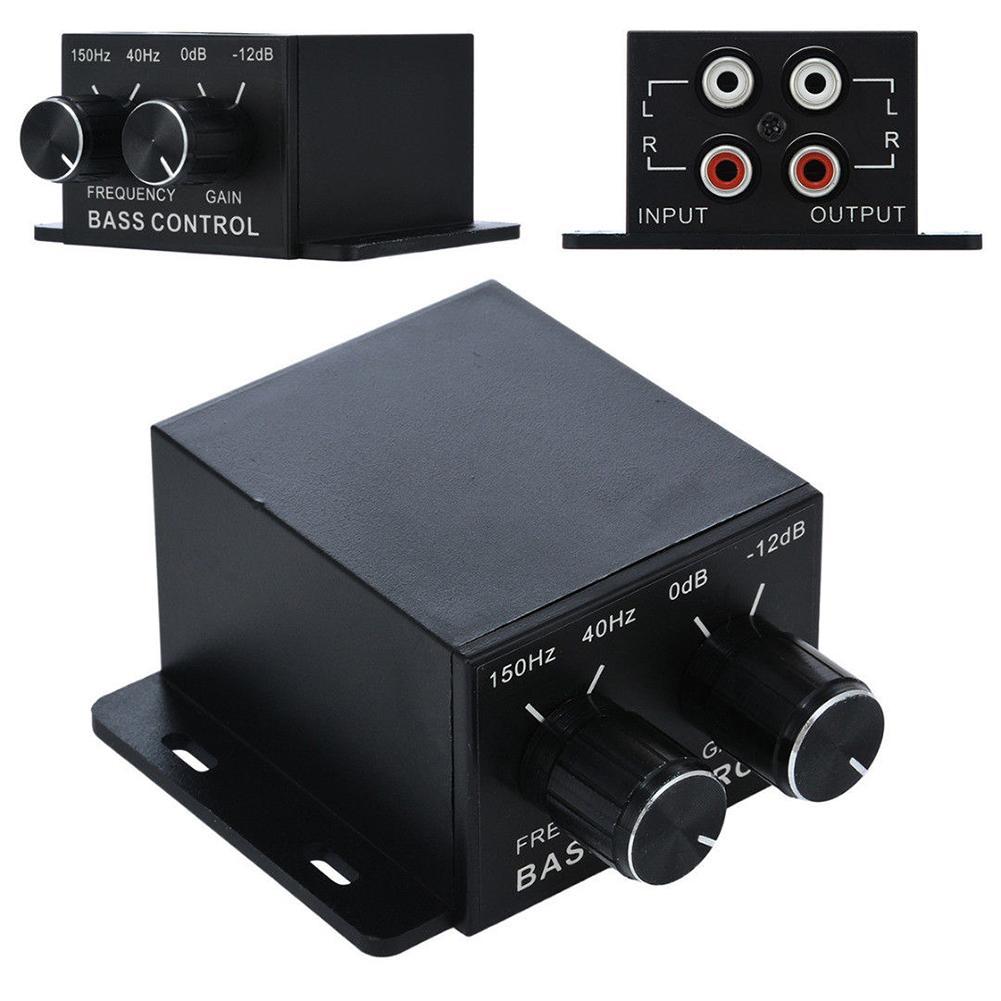 Speaker Audio-Controller Volume-Equalizer Power-Amplifier Bass Car 1pc Universal Durable