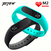 RsFow M2 Smart Bracelet Heart Rate Monitor Bluetooth Smartband Health Fitness Tracker Wristband Support XiaoMI Android