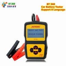 Оригинальный autool bt360 Авто Батарея Тесты er 12 В автомобильной Батарея анализатор 2000cca 220ah Multi-Язык плохо ячейки Тесты автомобиль Инструменты