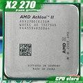 AMD Athlon II X2 270 CPU Процессор Dual-Core (3.4 ГГц/L2 = 2 М/65 Вт/2000 ГГц) Socket am3 am2 + бесплатная доставка 938 pin, продать X2 280