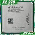 AMD Athlon II  X2 270 CPU Processor  Dual-Core (3.4Ghz/ L2=2M /65W / 2000GHz) Socket am3 am2+  free shipping 938 pin,sell X2 280