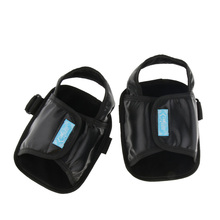 Wheelchair Footrest Restraint Shoes,Safety Shoes with Adhesive Strap, Anti Slip, Adjustable For Elderly Disabled