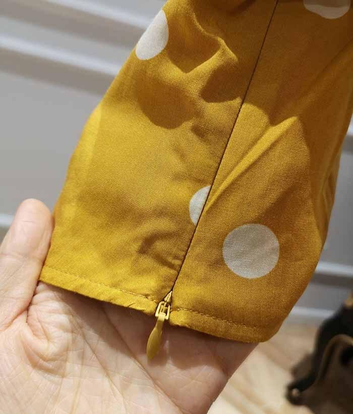 Espalda Manga Puff Naranja Estampado Tops Cropped Top 2019ss Mujer De Cuello Blusa Corte Elástica Bajo Nueva xHnSU08vn