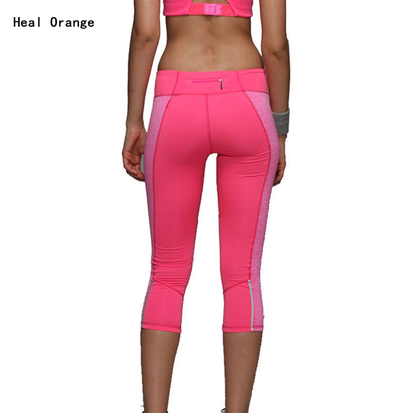 2015 Brand Sport Running Pants Women Fitness Running Pants Tights Quick Drying Spandex Running Compression Pant