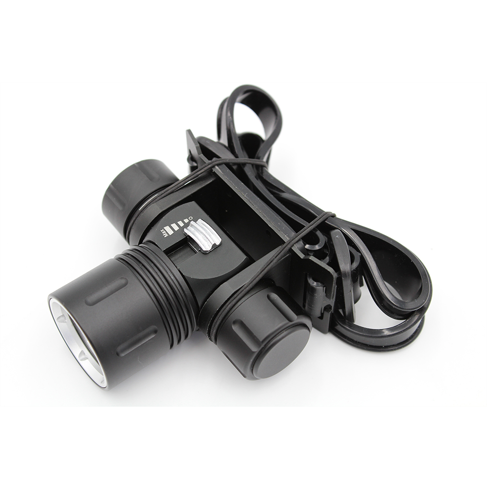 <font><b>1000</b></font> Lumens Underwater 100 Meters Diving Headlight XM-L2 Led Scuba Diving Headlamp Flashlight Torch Waterproof Lamp Light image