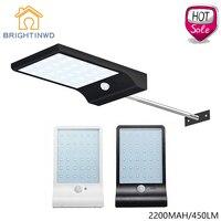 Solar Light 36led 450LM PIR Motion Sensor Light Powered Street Lamps Garden Light Outdoor Led Solar