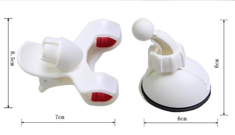 Автомобильный держатель для телефона с присоской держатель на лобовое стекло авто крепкая присоска крепление Braceket 360 градусов вращающийся 50 шт./партия