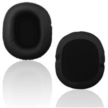 Soft Flannelette Protein Headset For Audio Technica For Sony MDR-7506 MDR-V6 Memory Sponge Foam Headset  Earpads Sh# 1pair memory foam headset earpads replacement ear pads cushion cover for sony mdr v6 mdr 7506 v6 mic blk earphone headphone case