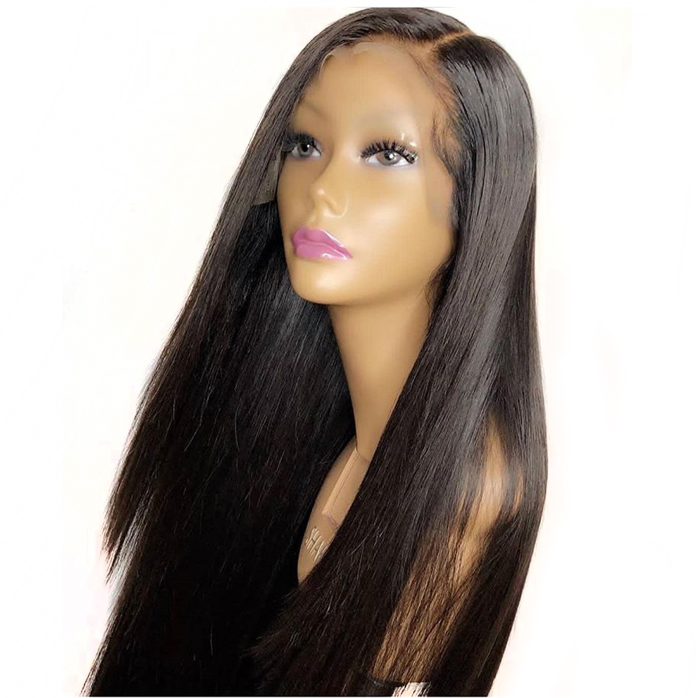 Eversilky Pre Plucked Glueless 360 Lace Frontal Human Hair Wigs With Baby Hair 8