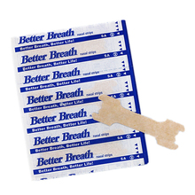 300pcs(55x16mm)Hot Sale Anti Snoring Nasal Strips for Sleep Better Strip Right Way to Stop Night Health Aid