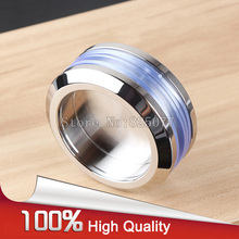 1PCS 304 Stainless steel round handle for bathroom sliding door invisible ED57