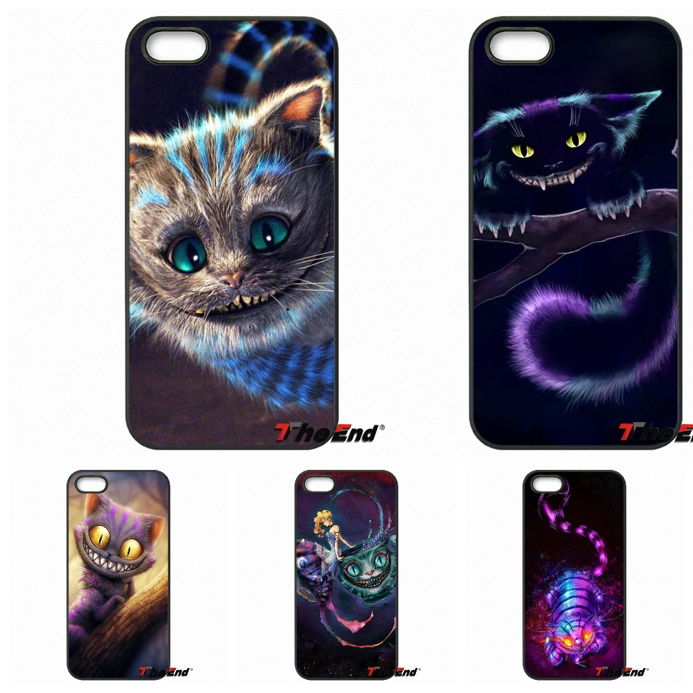 Cartoon Alice In Wonderland Pink Cheshire Cat Case For Motorola Moto E E2 E3 G G2 G3 G4 PLUS X2 Play Style Blackberry Q10 Z10