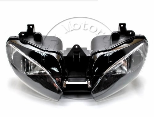 Motorcycle Front Headlight For YAMAHA YZFR6 1999 2000 2001 2002 YZF 600 R6 Head Light Lamp Assembly Headlamp Lighting Moto Parts dual core cpu car parking sensors 4 radars hd car monitor bluetooth mp5 4 fm auto rear view camera parktronic parking system