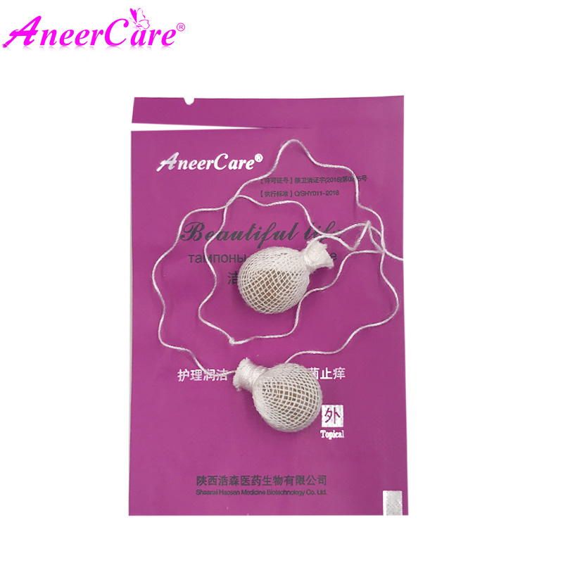 6pcs chinese tampon medical vaginal Feminine Hygiene Product Contracted vagina Gynecological inflammation beautiful life