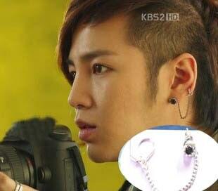 € 14 56 |jang keun suk Korean Drama love rain earrings en Aretes de Joyería  y accesorios en AliExpress com | Alibaba Group