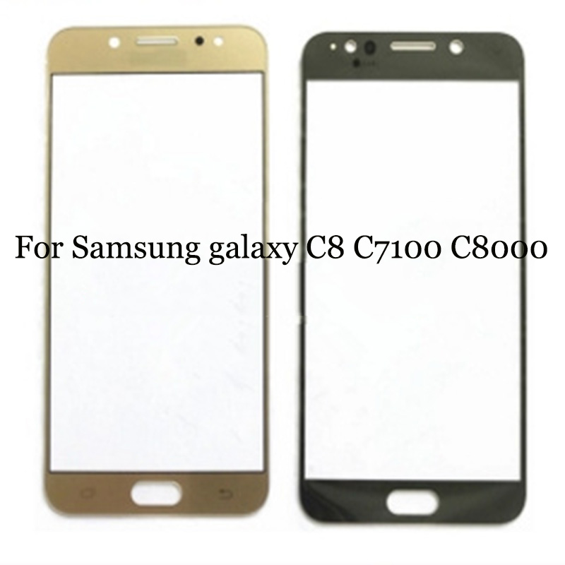 For Samsung galaxy C8 C 8 touch panel Digitizer Touch Screen Glass C7100 C8000 touchpanel without flex cable Perfect Repair