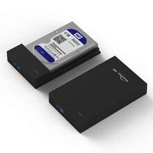 New Free tool 2.5'/3.5inch USB3.0 HDD Enclosure SATA3.0 Hard disk box up to 6Tb with 6Gpbs free shipping