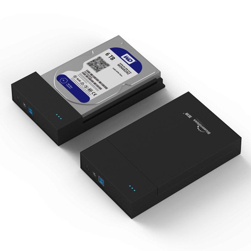 New Free tool 2 5 3 5inch USB3 0 HDD Enclosure SATA3 0 Hard font b