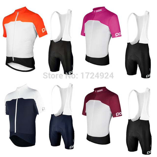 2015 POC sport jersey Cycling Shorts Sleeve bib Shorts Kits bike bicycle  clothing bicicletas maillot velo mtb ciclismo for men 995eceddf
