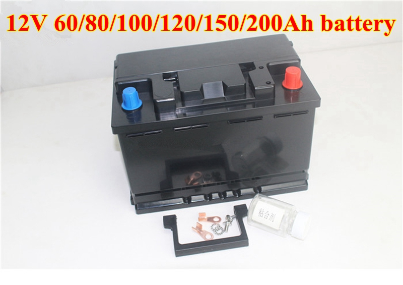 Ultra large Capacity 12V 60AH 80AH 100AH 120AH 150AH 180 200AH Lithium Polymer Battery for Boat