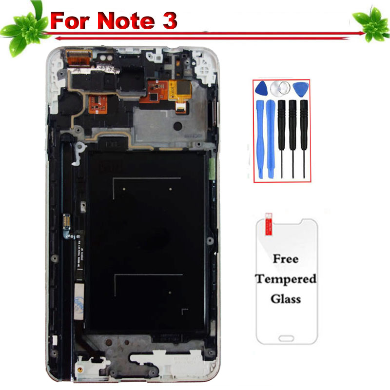 5.7 Oled for Samsung Galaxy Note 3 N9005 LCD Display Touch Screen Digitizer Assembly With Frame for Galaxy Note 3 N9005 display5.7 Oled for Samsung Galaxy Note 3 N9005 LCD Display Touch Screen Digitizer Assembly With Frame for Galaxy Note 3 N9005 display