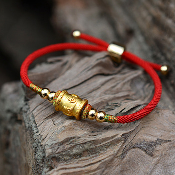 Bracelet Bouddhiste Doré