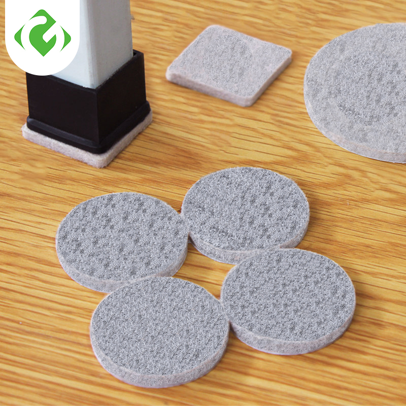 GUANYAO Non-woven Furniture Legs Self Adhesive Feet Rug Felt Pads Non-slip Wear-resistant Cushion Sofa Cabinet Damper For Chair