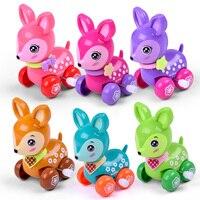 Прыгающая лягушка железная игрушка детский Заводной подарок детские игрушки коллекционные классические детские заводные игрушки