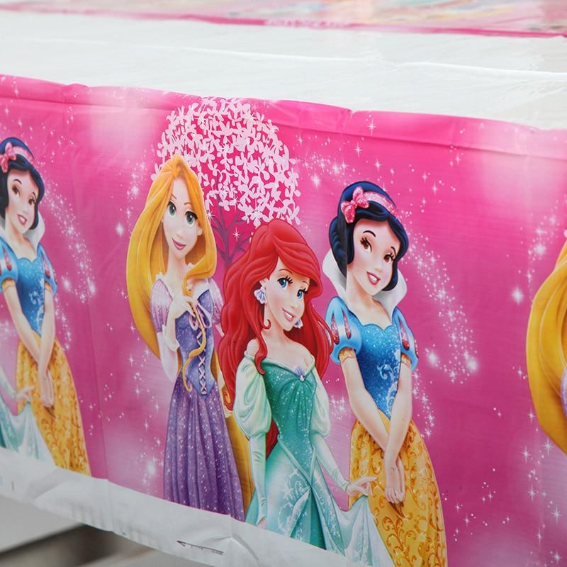 Rose 1st Anniversaire 108cm*180cm Table Nappe happy birthday party une célébration