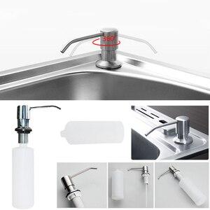 Image 2 - Пластиковый пресс для мытья посуды, искусственное мыло для бутылок, ванной комнаты, шампунь, дезинфицирующее средство для домашнего декора