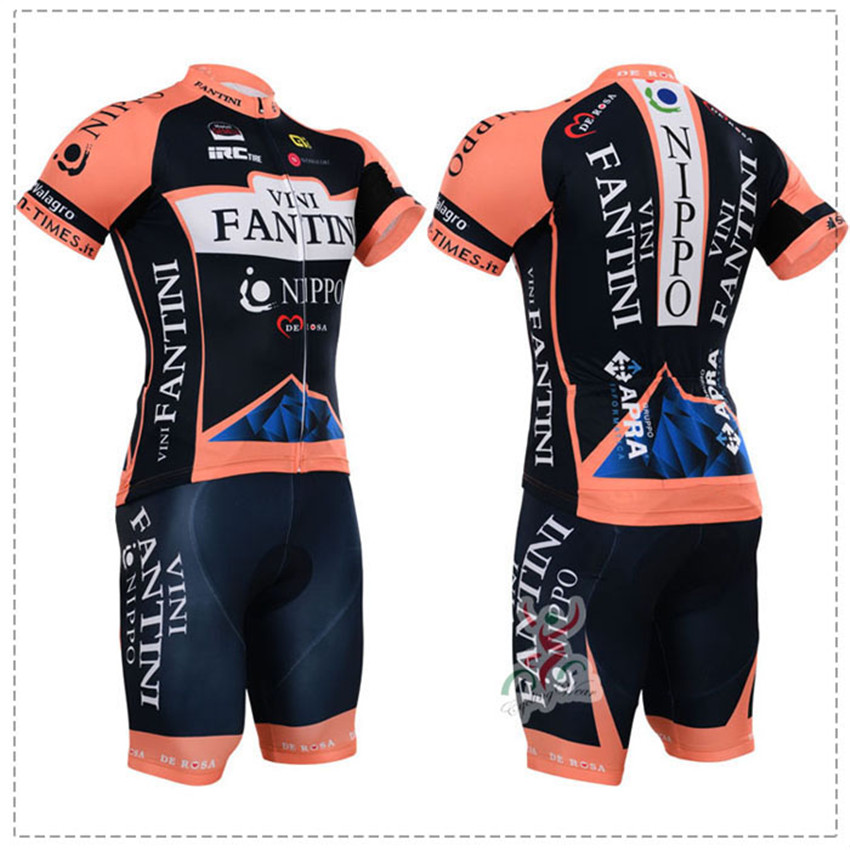 ФОТО summer style cycling sets cycling clothing mtb bicycle bike cycling jersey gel pad ropa ciclismo wholeseller Cheap