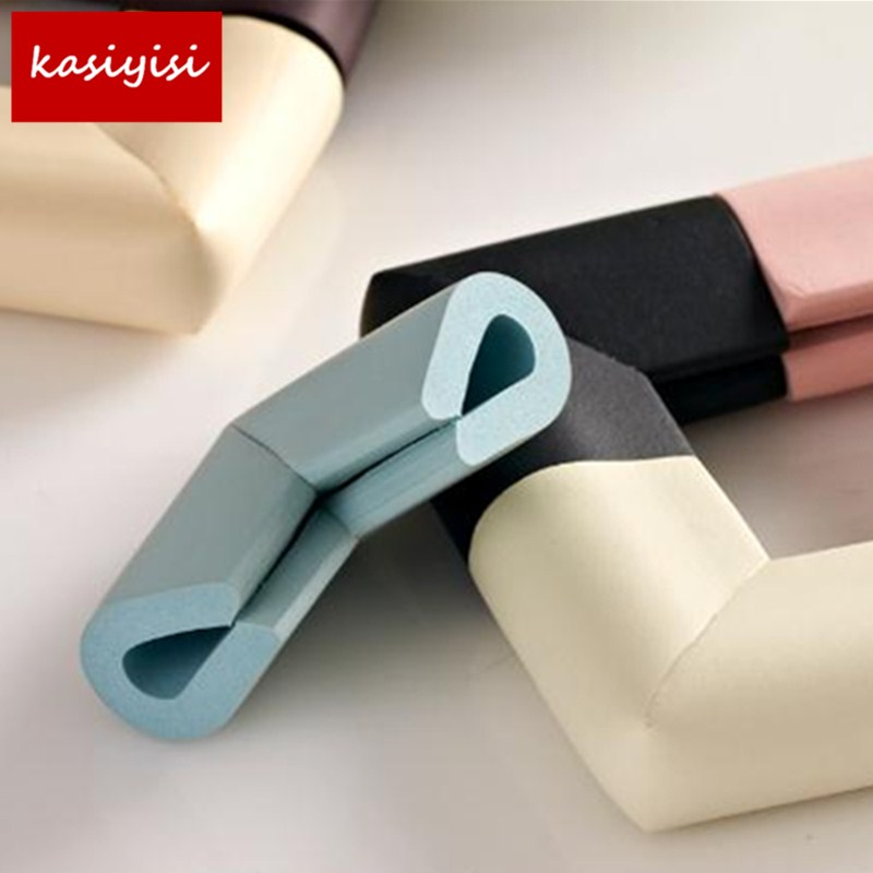 10Pcs/lot 55*55mm Soft Table Desk Children Safety Corner Baby Safety Edge Guards Children Protection Corner ...