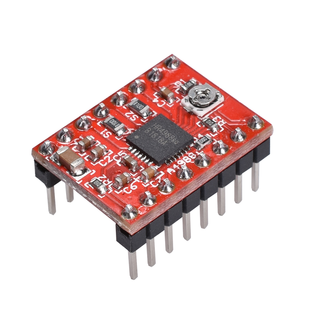 5PCS HR4988 Bigtree4988 Stepper Motor Driver Like DRV8825 A4988 Stepper Motor Driver Module With Heatsink Support Ramps 1.4
