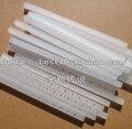 10pic ABS plástico suporte de eixo de ligação bar brinquedo modelo de madeira diy material branco