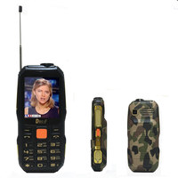 Analog TV Magic voice mp3 mp4 power bank phones Dual flashlight Rugged mobile phone cheap GSM cell phone Original DBEIF TVD1000
