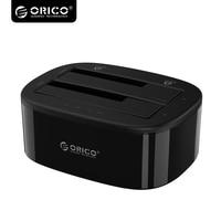 ORICO USB 3.0 SATA Dual-Bay Docking Station voor 2.5/3.5 inch HDD/SSD met Offline Clone Functie [UASP Protocol]