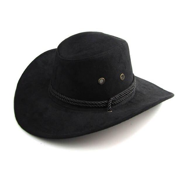 placeholder New Arrival Men Women 3 color Large brim hat cowboy hat for man  millinery outdoor hat 1f48feb5425b