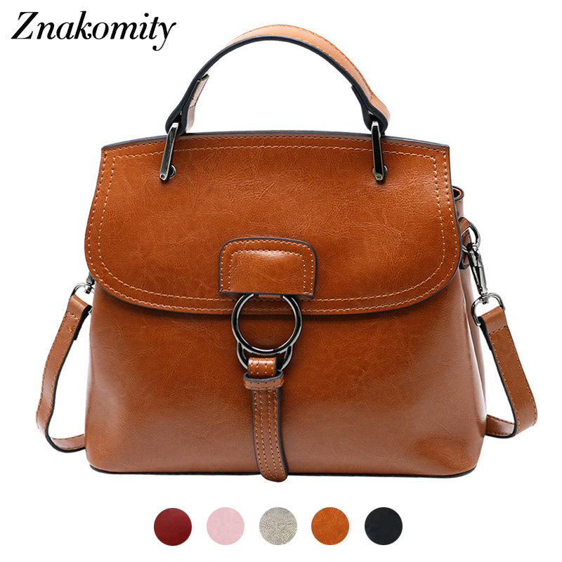 Znakomity Messenger bag women genuine leather shoulder bag brown Real cow's leather crossbody bag Fashion black retro handbags цена 2017