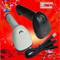 X-500 round mouth keyboard port PS2 laser bar code scanning gun scan code gun scanner acquisition