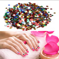 3000pcs/Pack 6mm Multicolor Color Five-pointed Star Nail Art Tips Stars Sequins DIY Glitter 3D Nail Decoration For Nail Beauty