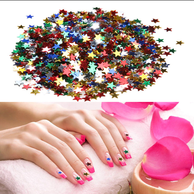 3000pcspack 6mm multicolor color five pointed star nail art tips 3000pcspack 6mm multicolor color five pointed star nail art tips stars sequins diy prinsesfo Image collections