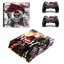 NIOH  vinyl Decal Skin Sticker For Sony Playstation 4 PS4 Pro promotion Console Flims +2Pcs Controller