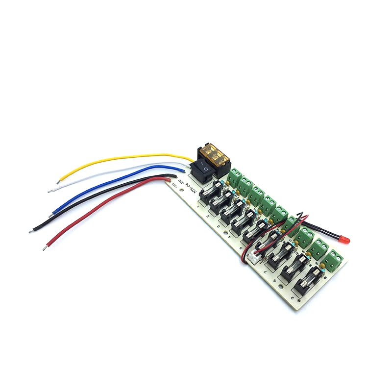 9 18 Way 5V12V24V Power Supply Board Wiring Terminal Distribution box with Fuse image