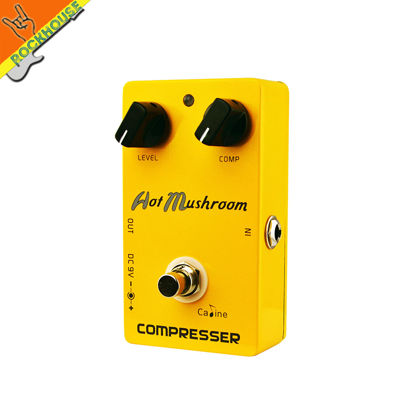 Caline CP-10 Compressor Guitar Effects Pedal Compressor Guitar Pedal Stompbox Balance Dynamic Output True Bypass Free Shipping