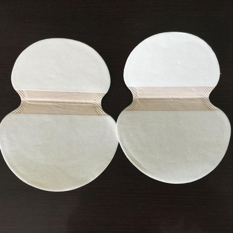 10Pcs Disposable Underarm Sweat Pads Guard Absorbent Stickers Anti Perspiration Armpit Mats Summer Deodorant Sweat Pads