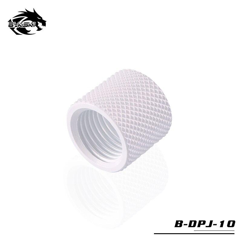 Bykski 15 мм расширитель алмаз двойной женский фитинг резьба G1/4 B-DPJ-10 - Цвет лезвия: White